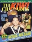 1991 AUSTRALIA v NEW ZEALAND - Second Test